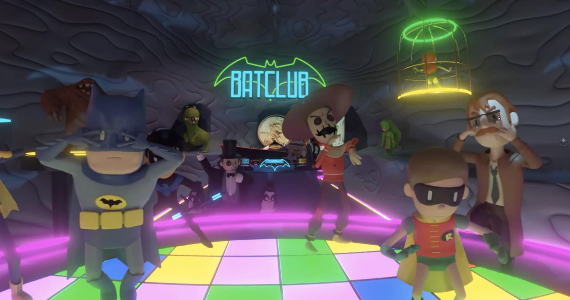 Batcave Dance Party VR