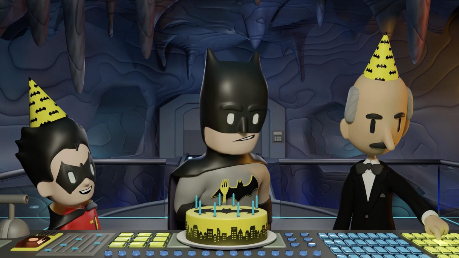 Warner Brothers / DC: Happy Birthday Batman